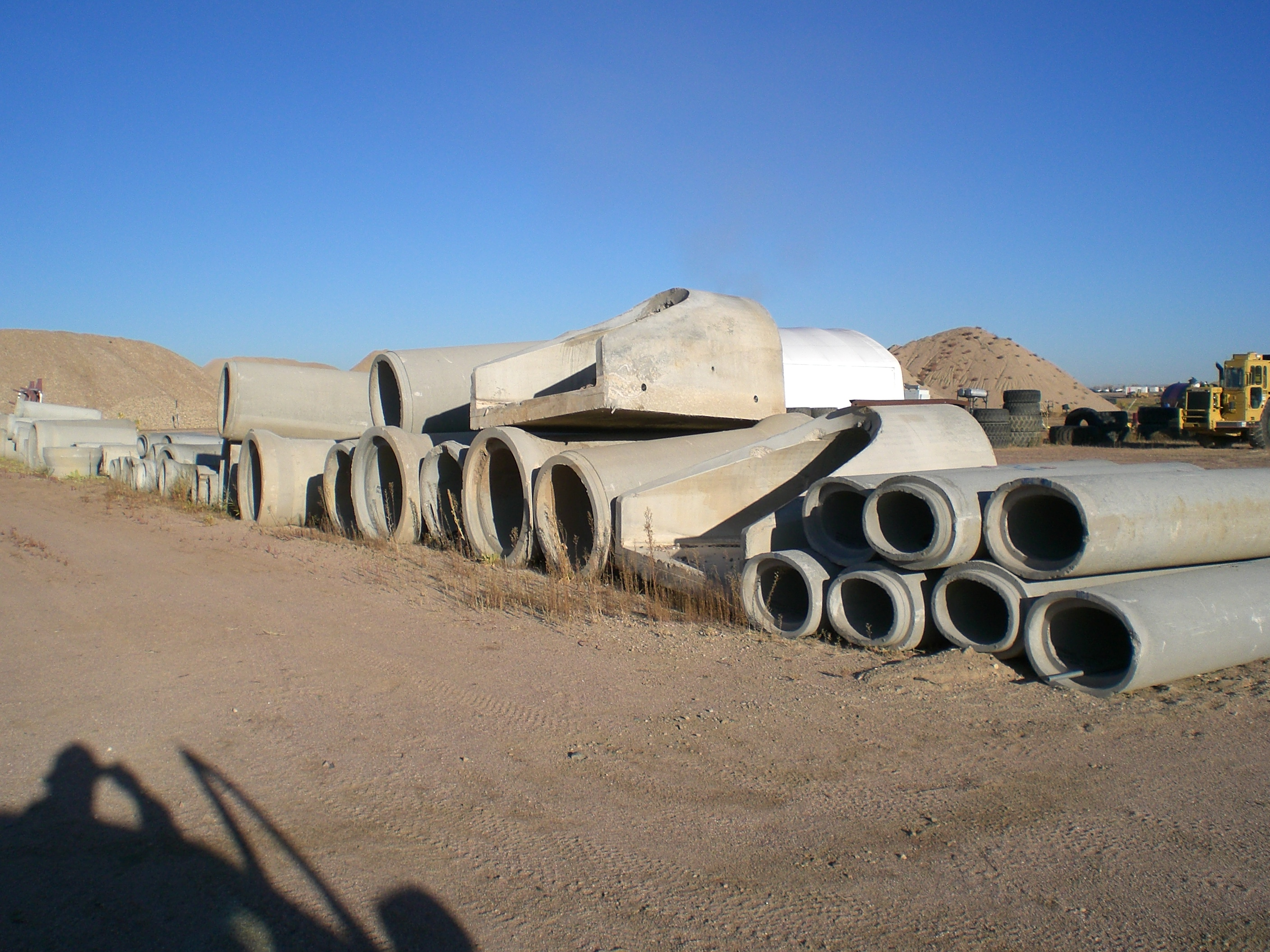 VARIOUS CONCRETE PIPE