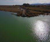 Plataforma de bombeo para el lago Curtis